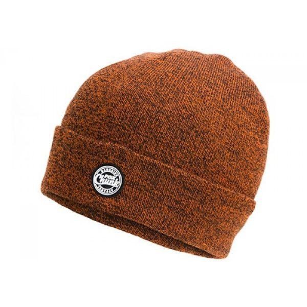 Fox Chunk Orange/Black Marl Beanie