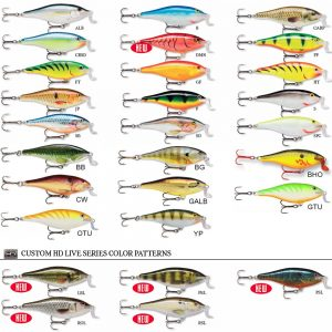 Shad rap shallow runner 7cm floating