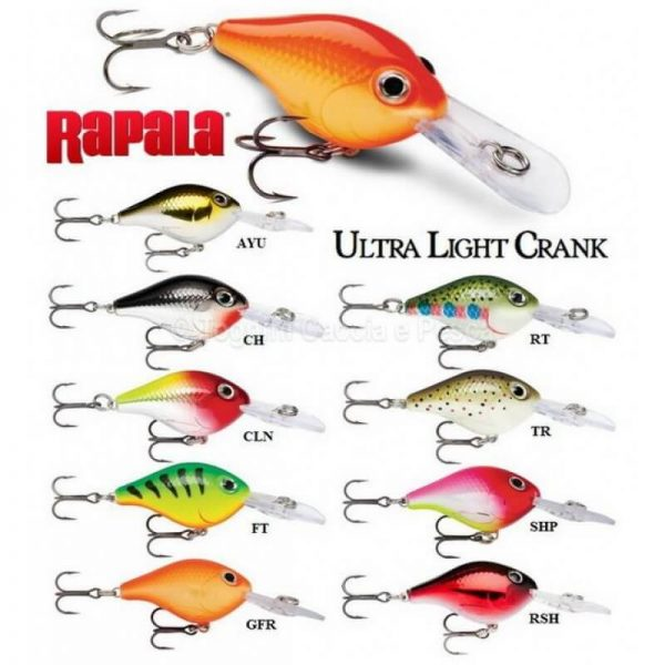 rapala ultra light crank a3617 800x800 600x600 - Ultra light crank 3cm