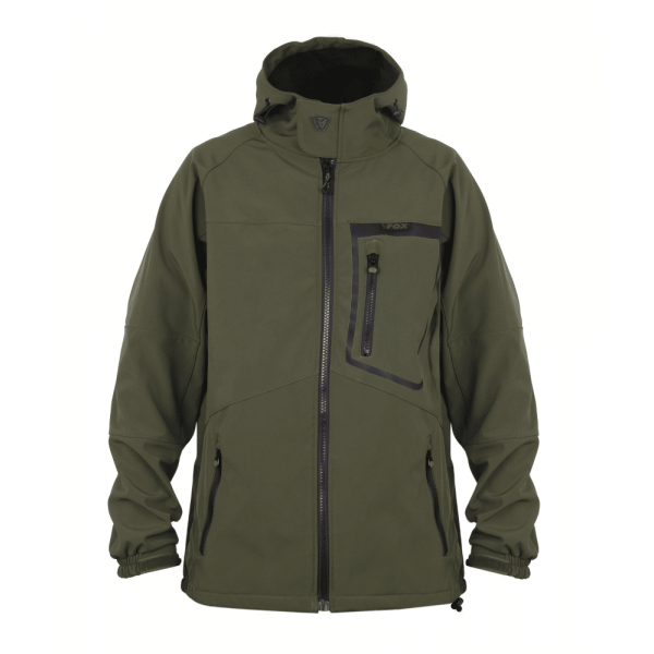 9003668 600x600 - Fox Green & Black Softshell Jacket