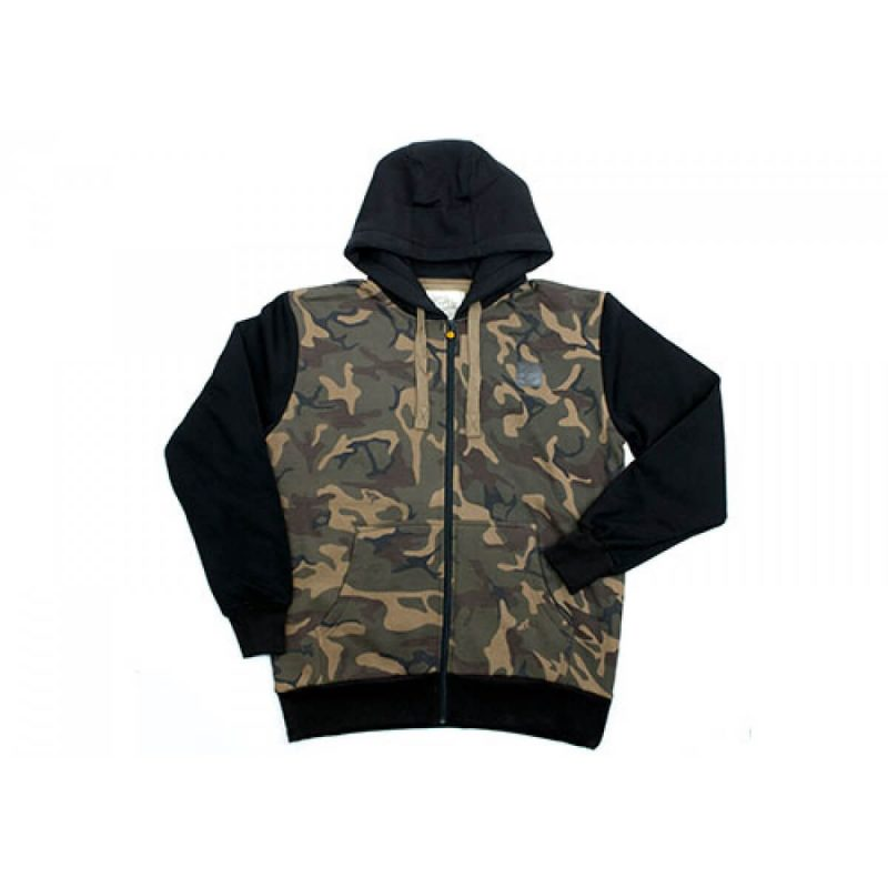 chunk camo black sleeve hoody 2 - Fox Chunk Camo Body Hoody