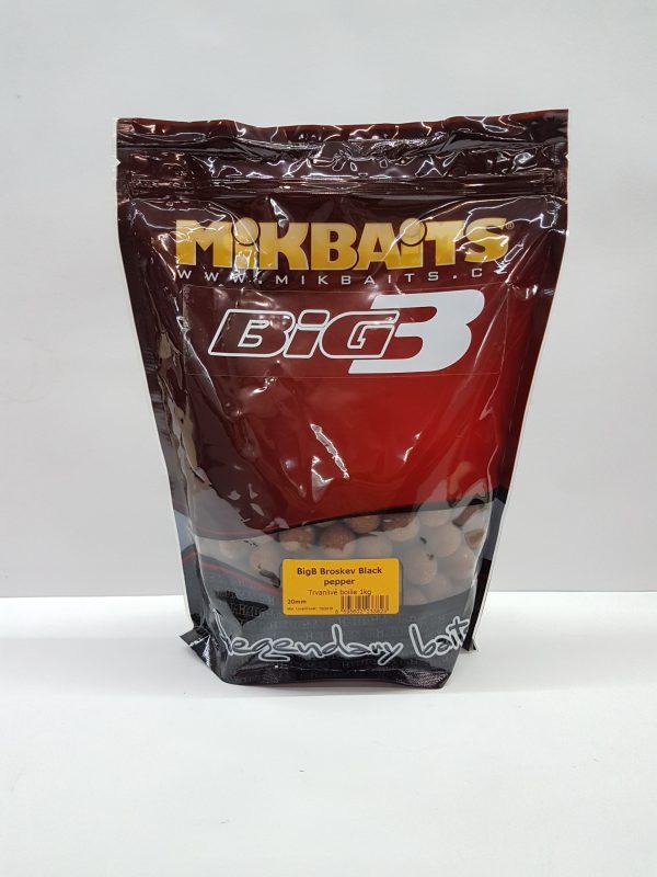 20180123 103347 - Mikbaits Legends boilies BigB Broskyňa Black pepper