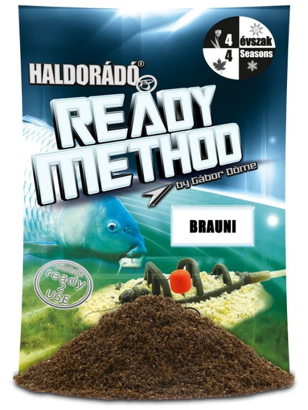 Haldorado ready method brauni 600x800 - Haldorádó Ready Method - Brauni