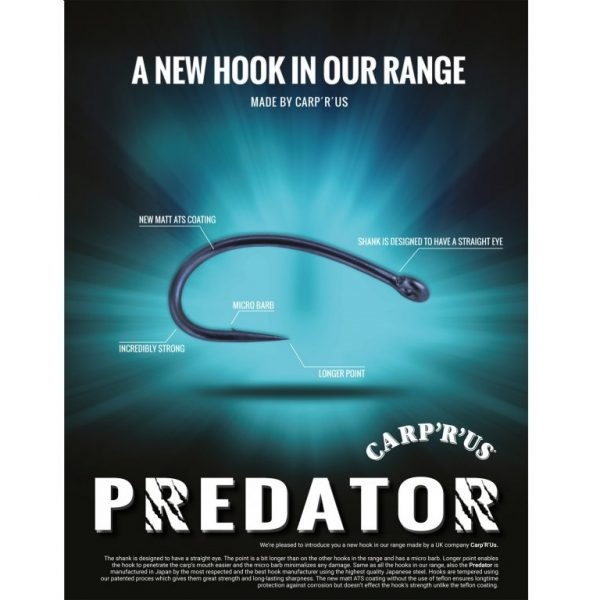 168892 4 600x600 - CARP ´R´ US Predator ATS