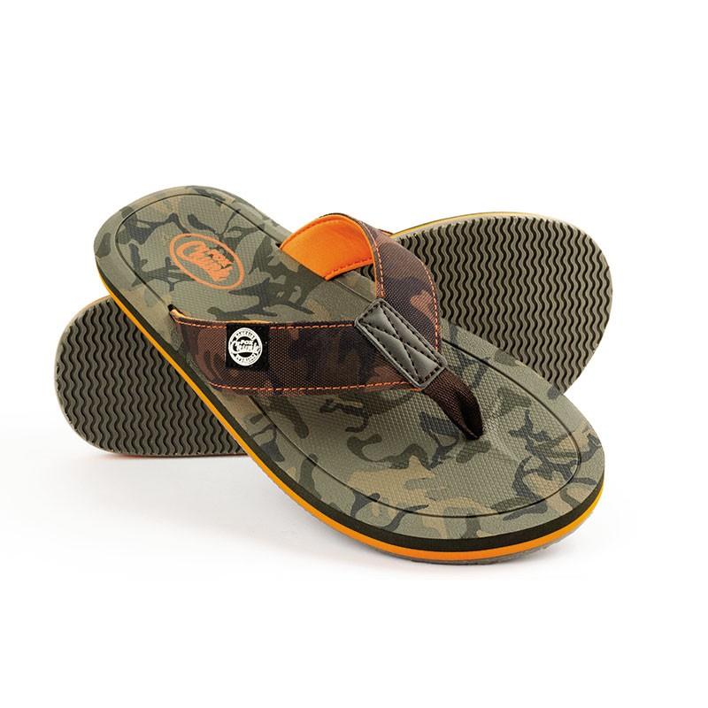 fox chunk camo flip flops - FOX Šľapky CHUNK™ Camo Flip Flops