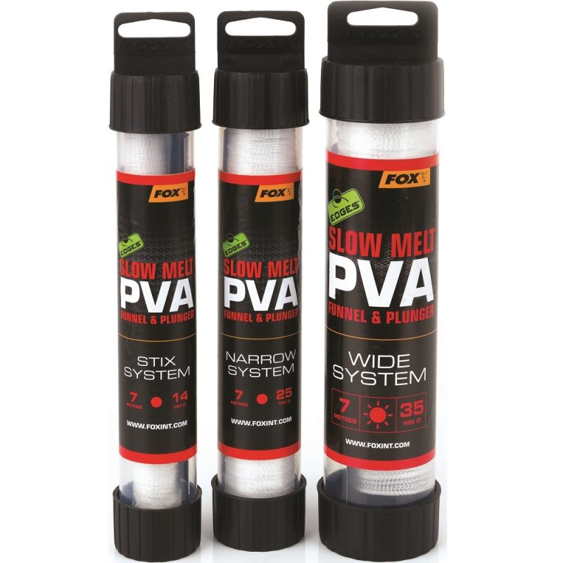 fox pva puncocha edges slow melt pva mesh system 7 m  - Fox PVA Komplet Edges Slow Melt PVA Mesh System 7 m
