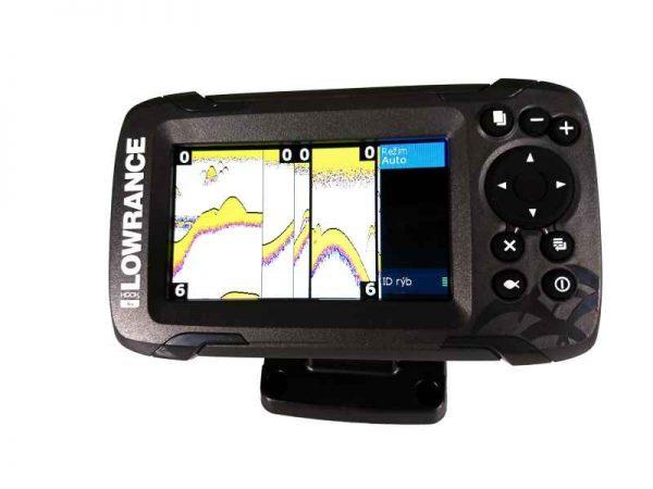 sonar na ryby 456 447e 600x450 - Sonar Lowrance HOOK2 - 4X ROW