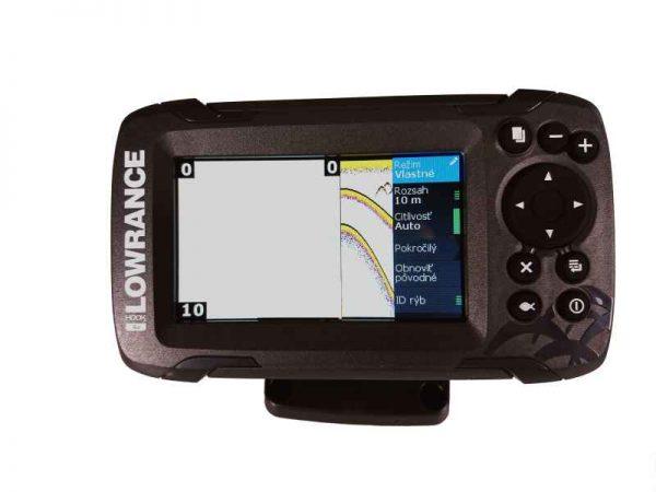 sonar na ryby 456 447f 600x450 - Sonar Lowrance HOOK2 - 4X ROW