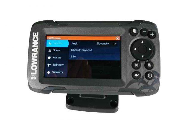 sonar na ryby 456 447g 600x421 - Sonar Lowrance HOOK2 - 4X ROW