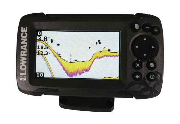 sonar na ryby 456 447h 600x412 - Sonar Lowrance HOOK2 - 4X ROW