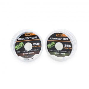 cac441 cac446 300x300 - FOX šnúrky camotex soft 25lb 20m