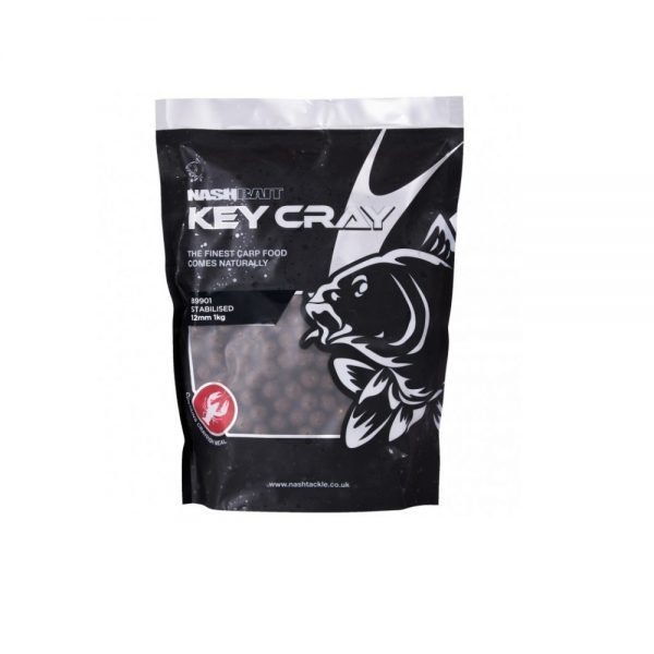 nash key cray stabilised boilies 1 600x600 - NASH KEY CRAY STALIBISED BOILIES 1kg