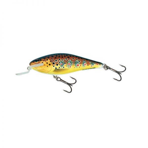salmo wobler executor shallow runner trout 1 600x600 - Salmo Wobler Executor Trout 5cm 5g plávajúci