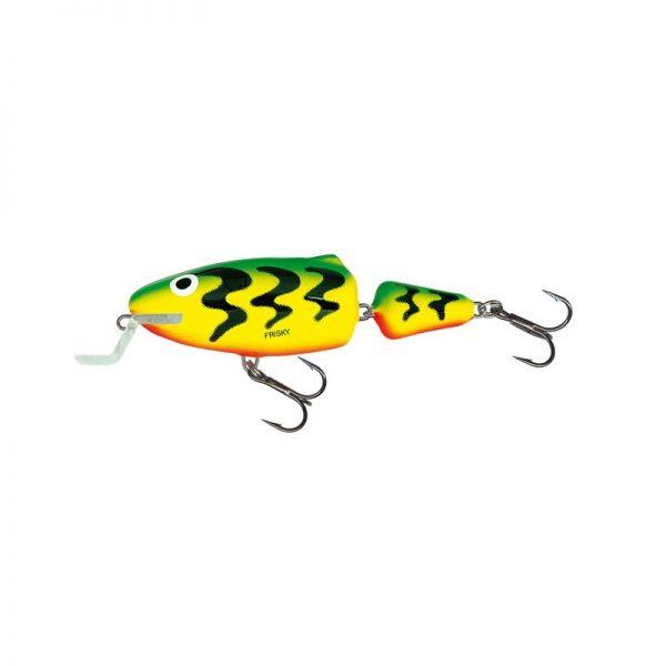 salmo wobler frisky shallow runer green tiger 1 1 600x600 - Salmo Wobler Frisky SR Green Tiger 7cm 7g plávajúci