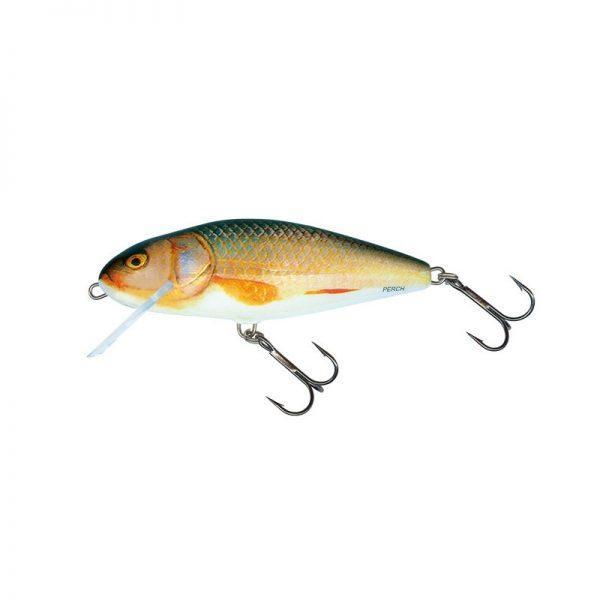 salmo wobler perch floating holographic grey shiner 1 3 600x600 - Salmo Wobler Perch Real Roach 8cm 12g plávajúci