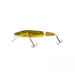 salmo wobler perch floating holographic grey shiner 1 4 300x300 - Salmo Wobler Pike Jointed Hot Pike 11cm 13g plávajúci