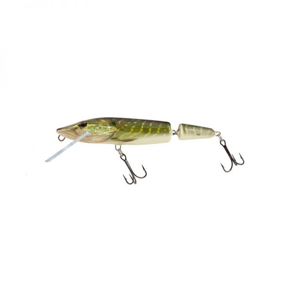 salmo wobler perch floating holographic grey shiner 1 5 600x600 - Salmo Wobler Pike Jointed Real Pike 11cm 13g plávajúci
