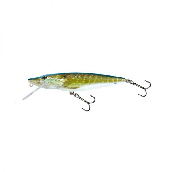 salmo wobler perch floating holographic grey shiner 1 7 600x600 - Salmo Wobler Pike Real Pike 11cm 15g plávajúci