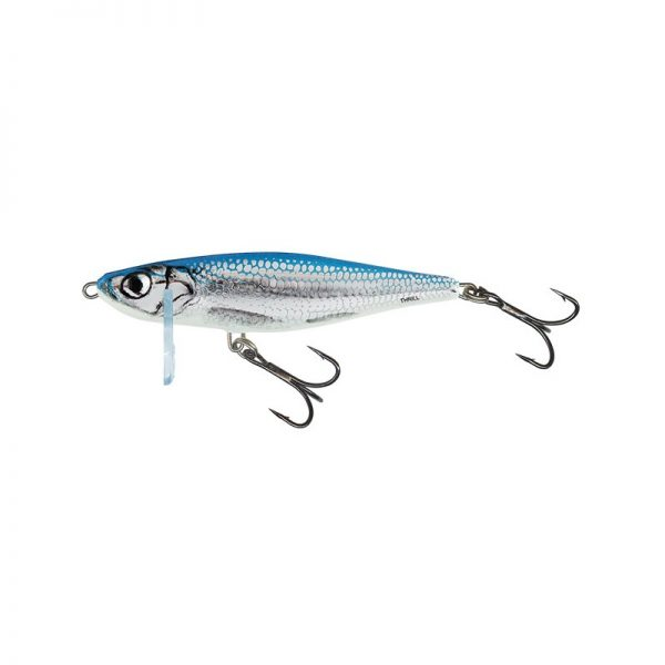 salmo wobler thrill sinking blue fingerling 1 1 600x600 - Salmo Wobler Thrill Blue Fingerling 5cm 6,5g potápavý