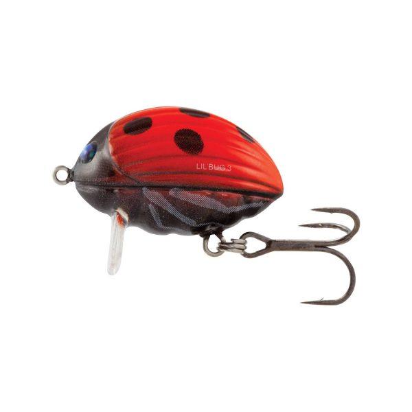 vyr 3460SALMO LIL BUG QBG002 600x600 - Salmo Wobler Lil'Bug Ladybird 3cm 4,3g plávajúci