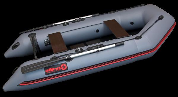 F270S 2 600x329 - Elling nafukovacie člny - Forsag s pevnou skladacou podlahou