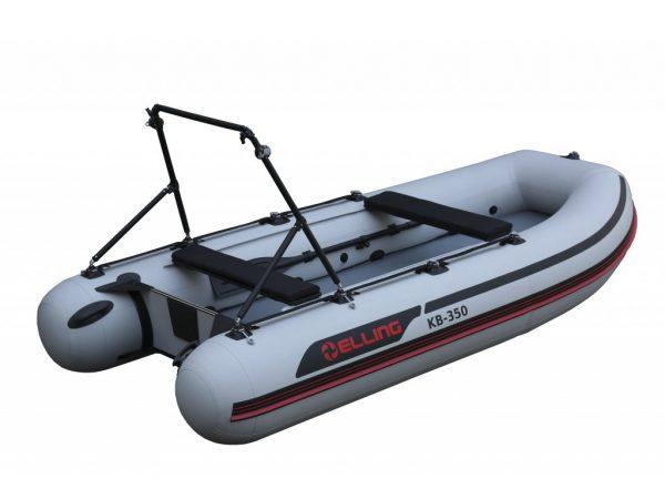 KB350PRO 2 600x450 - Elling nafukovacie člny – Trimaran s nafukovacou podlahou