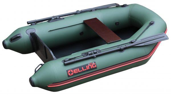 T200Z 2 600x332 - Elling nafukovacie člny - T200 široký s pevnou skladacou podlahou