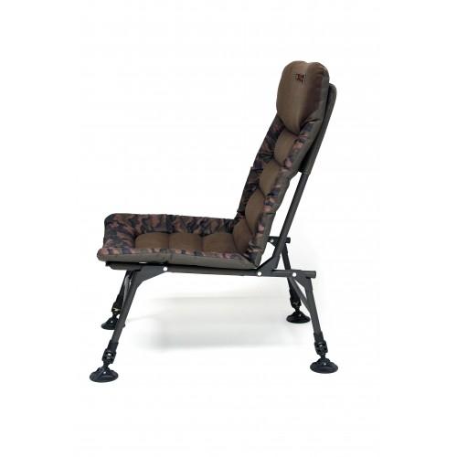 ZF 8272 foto 2 s gumou - Zfish Kreslo Quick Session Camo Chair