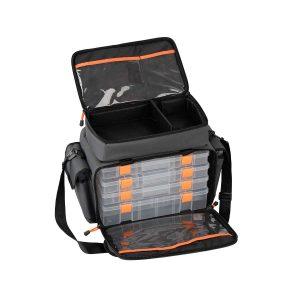 54770 Lure Bag M 6 boxes 30x40x22cm 300x300 - Savage Gear Lure Specialist Bag M 6 boxes (30x40x22cm)