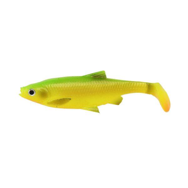 savage gear gumova nastraha 3d lb roach paddle tail firetiger 4 ks 1 600x600 - Savage gear 3D LB Roach Paddletail 10cm 10g 3ks Firetiger