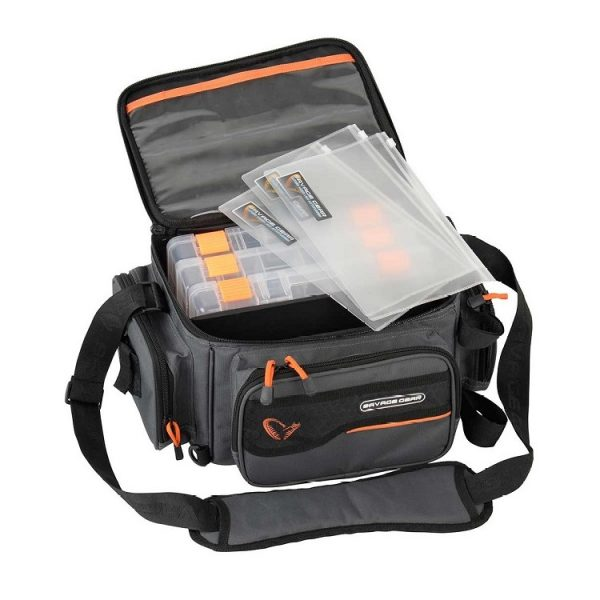 savage gear system box bag 3boxes pp bags 1 600x600 - Savage Gear System Box Bag 3Boxes PP Bags M (20x40x29cm)