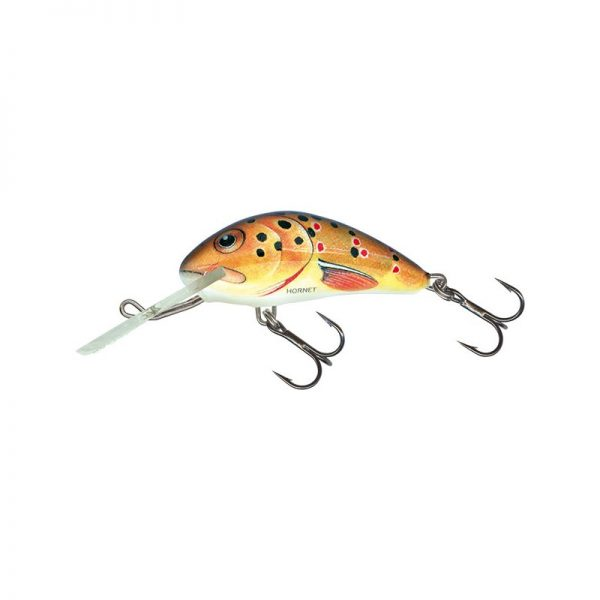 salmo wobler hornet floating trout 1 1 600x600 - Salmo Wobler Hornet Floating Trout 6cm 10g plávajúci
