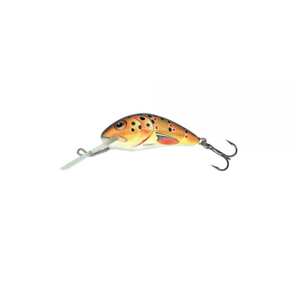 salmo wobler hornet floating trout 1 600x600 - Salmo Wobler Hornet Floating Trout 3,5cm 2,2g plávajúci